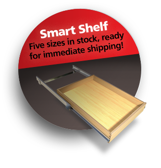 Smart Shelf: Provides Easy Access to Items in the Back of Your Cabinets